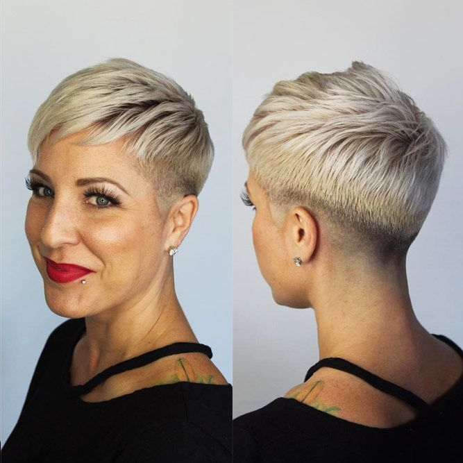 Looking for a crash course in all the latest short hairstyles? Undercut Hair For Over 60