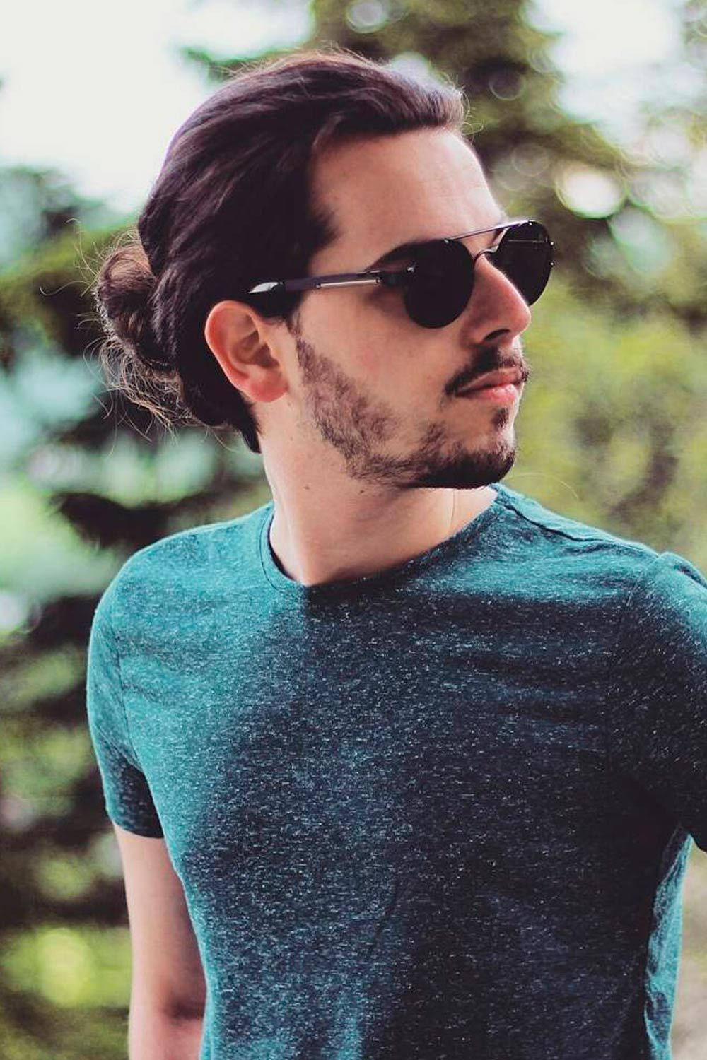 The best hats for men with long hair · 1. How To Get Style And Sport The On Trend Man Bun Hairstyle