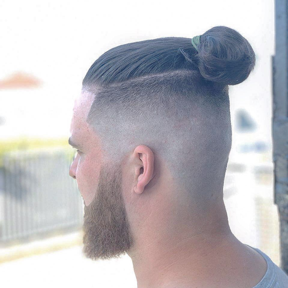 Mens curly hairstyles and haircuts · #1: 12 Best Man Bun Fade Hairstyles Men S Hairstyles Haircuts