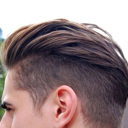 Hair with a bit of curl and wave is best sho. 15 Best Undercut Hairstyles For Men 2019 Mens Hairstyles