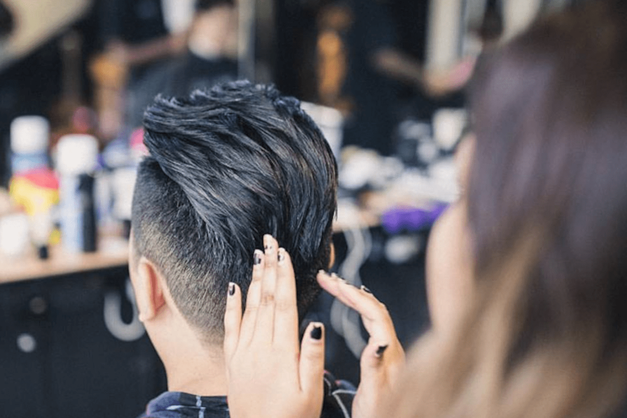 Layers lighten up thick hair and add jagged texture to this short sides, long top haircut. How Did The Undercut Become The Douchiest Hairstyle For Singaporean Men