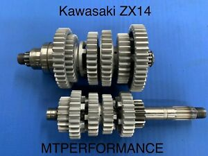 D1 and d2 refer to the reference diameters of 2 mating gears (gear 1 is the driving gear, and gear 2 is the driven gear). Kawasaki Zx 14 Transmission Gears Undercutting Service All Years Ebay