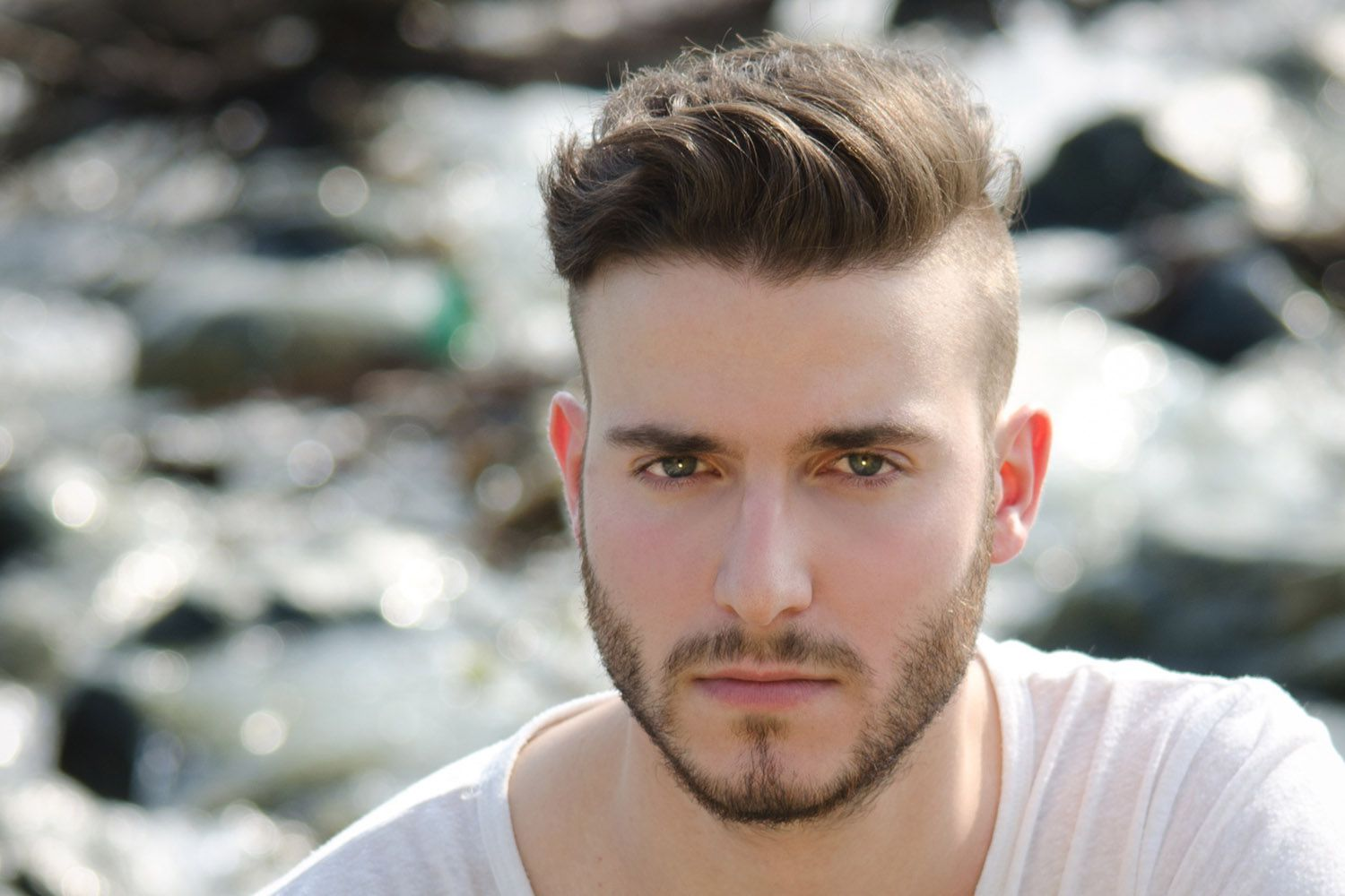 An undercut is essentially an extreme version of a short back and sides. Undercut Hairstyle With Shaved Sides Nice