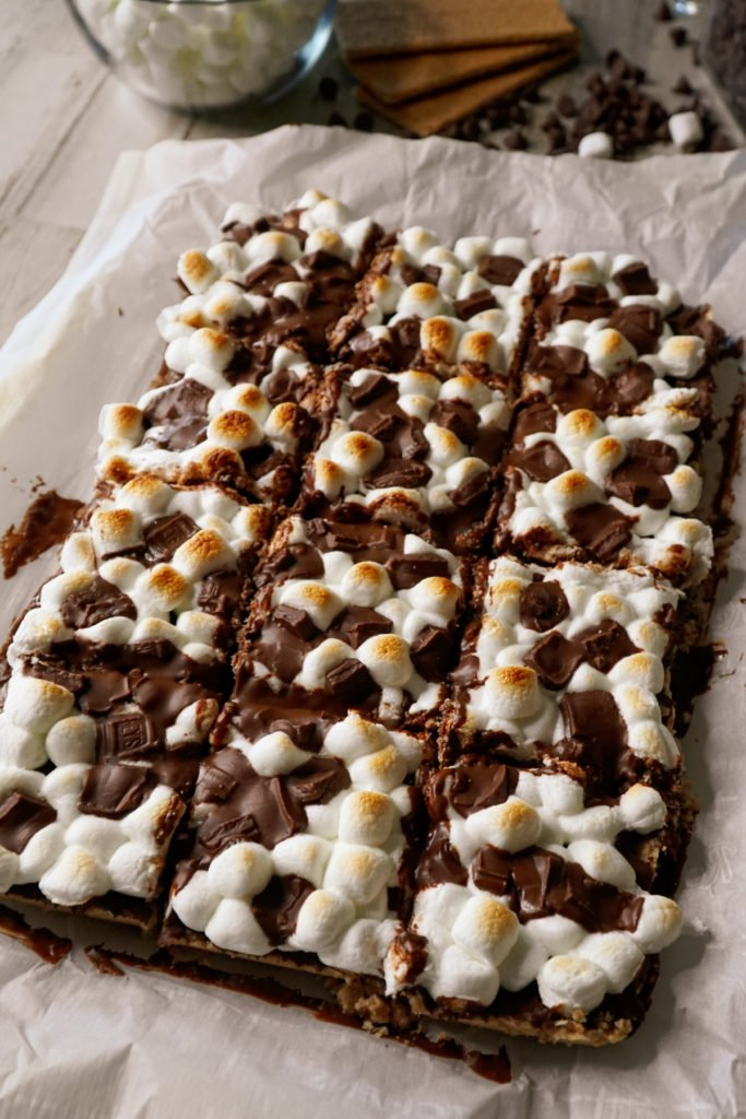 Smores Bars In The Oven