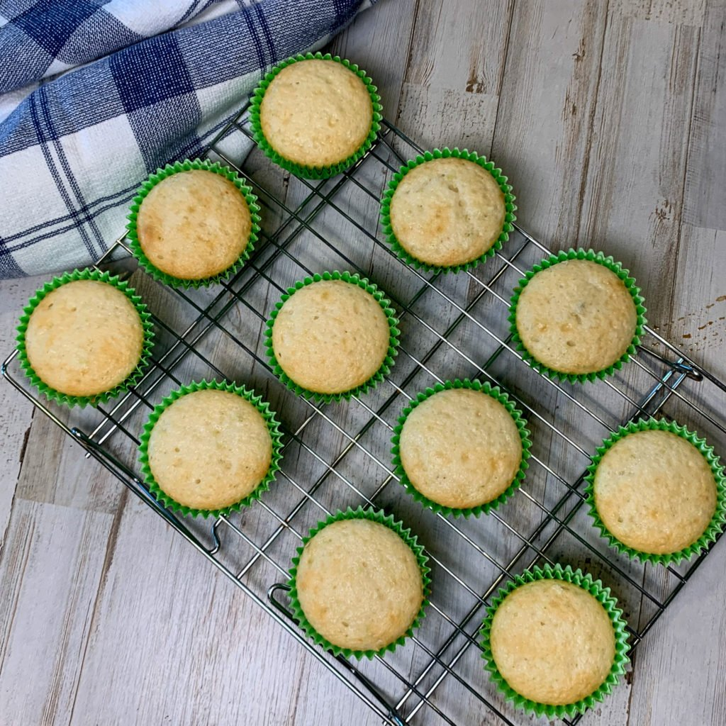 Baked Key Lime Cupcakes