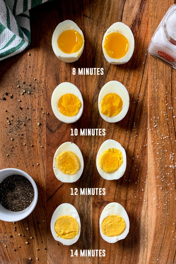 How to boil eggs in minutes for the perfect soft, medium, and hard-boiled eggs.