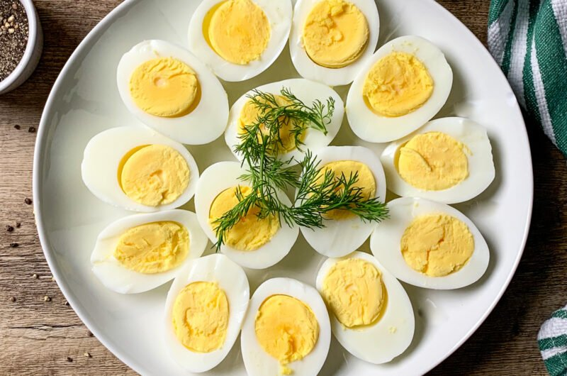 How to boil eggs so they peel easily every time.
