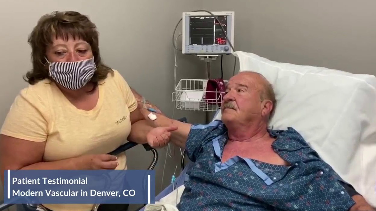 Testimonial from Diabetic Patient George and His Wife