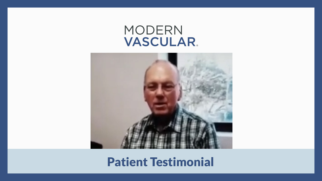 Patient Testimonial: Kenneth's Experience with Modern Vascular in San Antonio