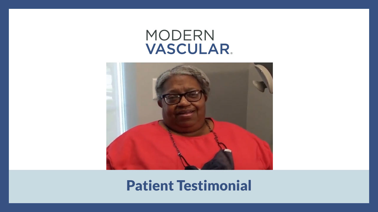 Video Testimonial from Patient at Modern Vascular Fort Worth