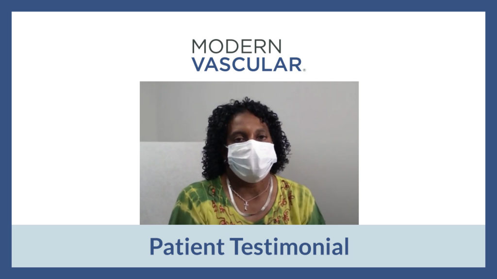 Monica's Experience at Modern Vascular Fort Worth
