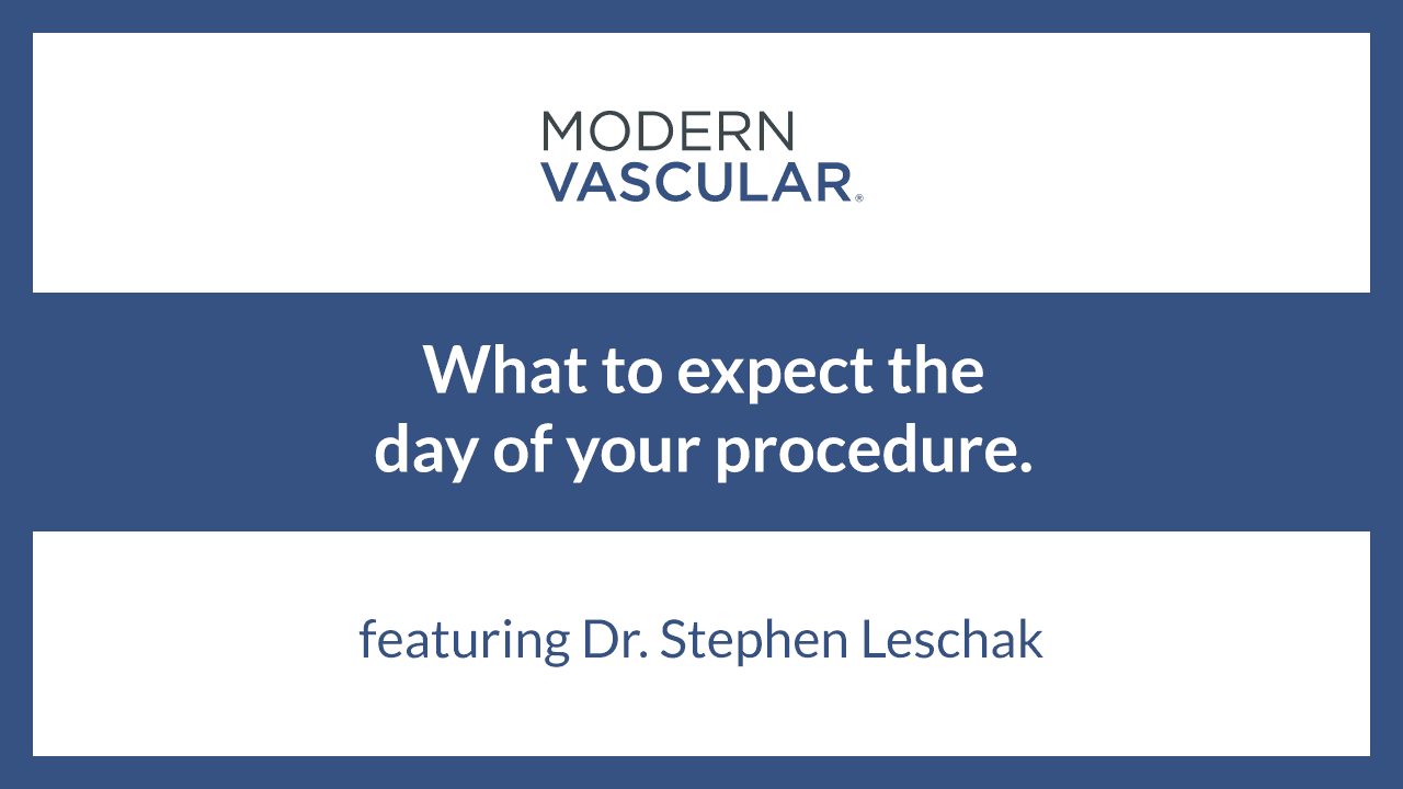 What to Expect the Day of Your Procedure – Dr. Leschak