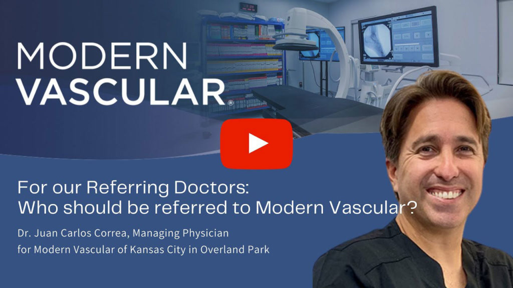 Who Should Be Referred to Modern Vascular?
