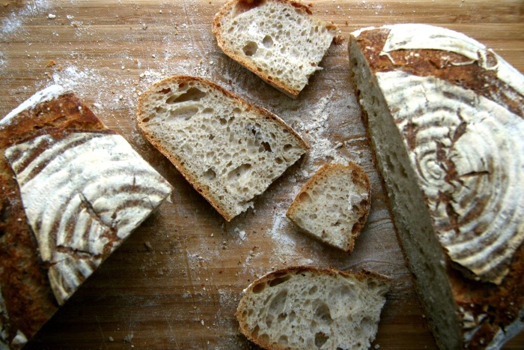 How to make bread with just flour and water