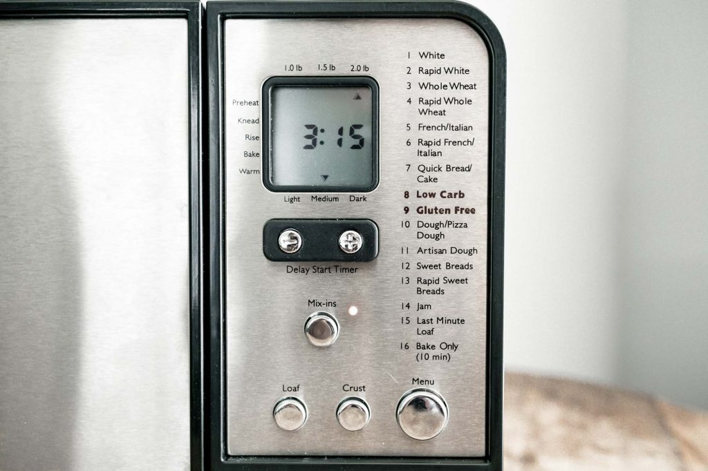 when to remove paddle from bread machine