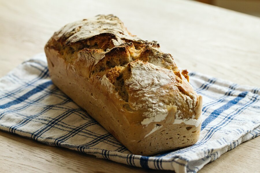 bread with just flour and water
