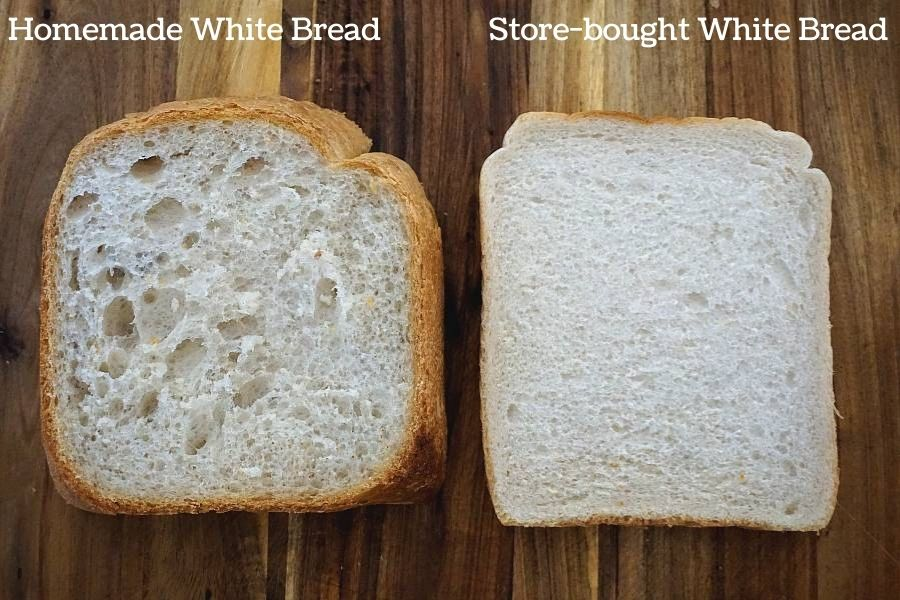 is bread maker bread healthier than store-bought bread