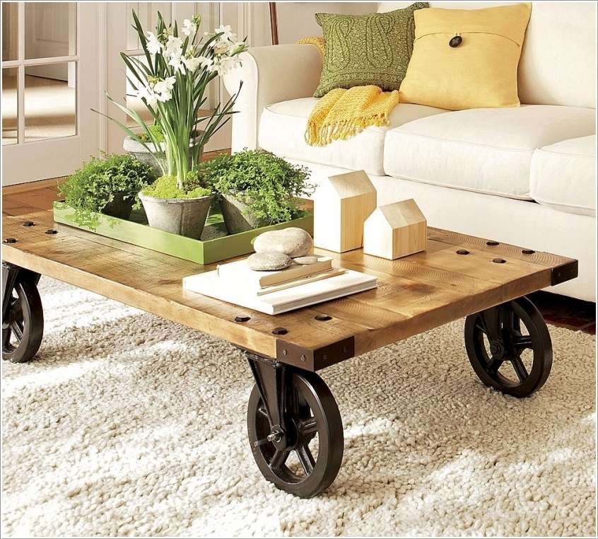 Cheap And Easy To Make Diy Coffee Tables