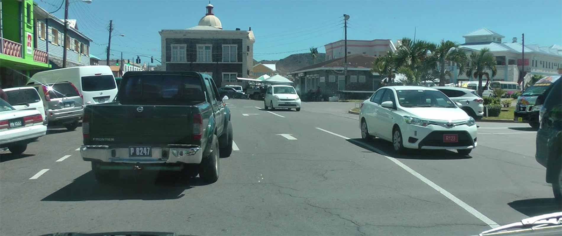 driving in st kitts