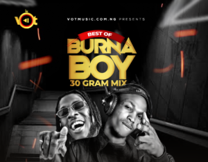 DJ NT – Best Of Burna Boy Mixtape 2020 (30 Gram Mix)