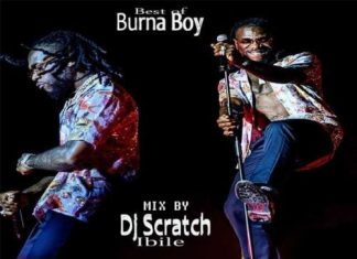 DJ Scratch – Best of Burna Boy Mixtape 2020