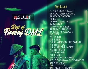 DJ S-Jude – Best Of Fireboy DML (Latest Fire Boy Songs)