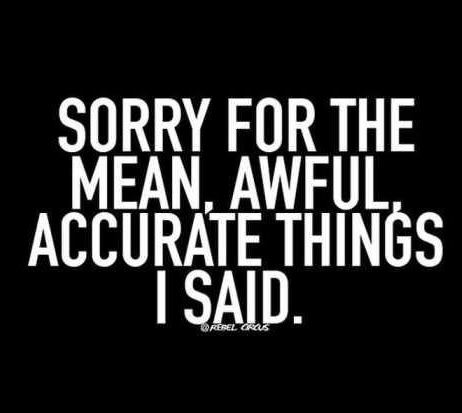 70 Mean Quotes Funny And Sarcastic