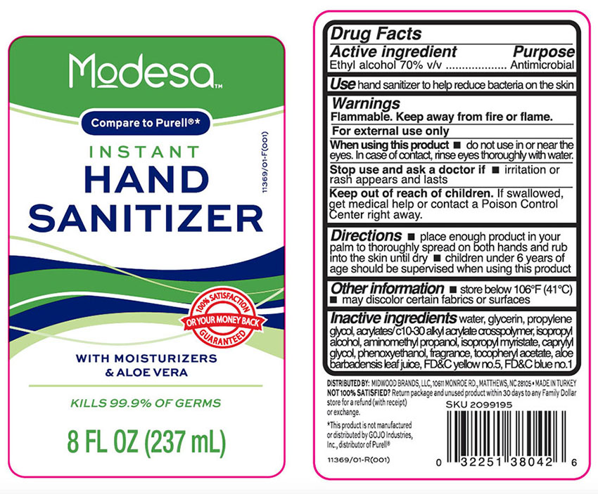 Ndc 55319 432 Hand Sanitizer With Moisturizers And Aloe Vera
