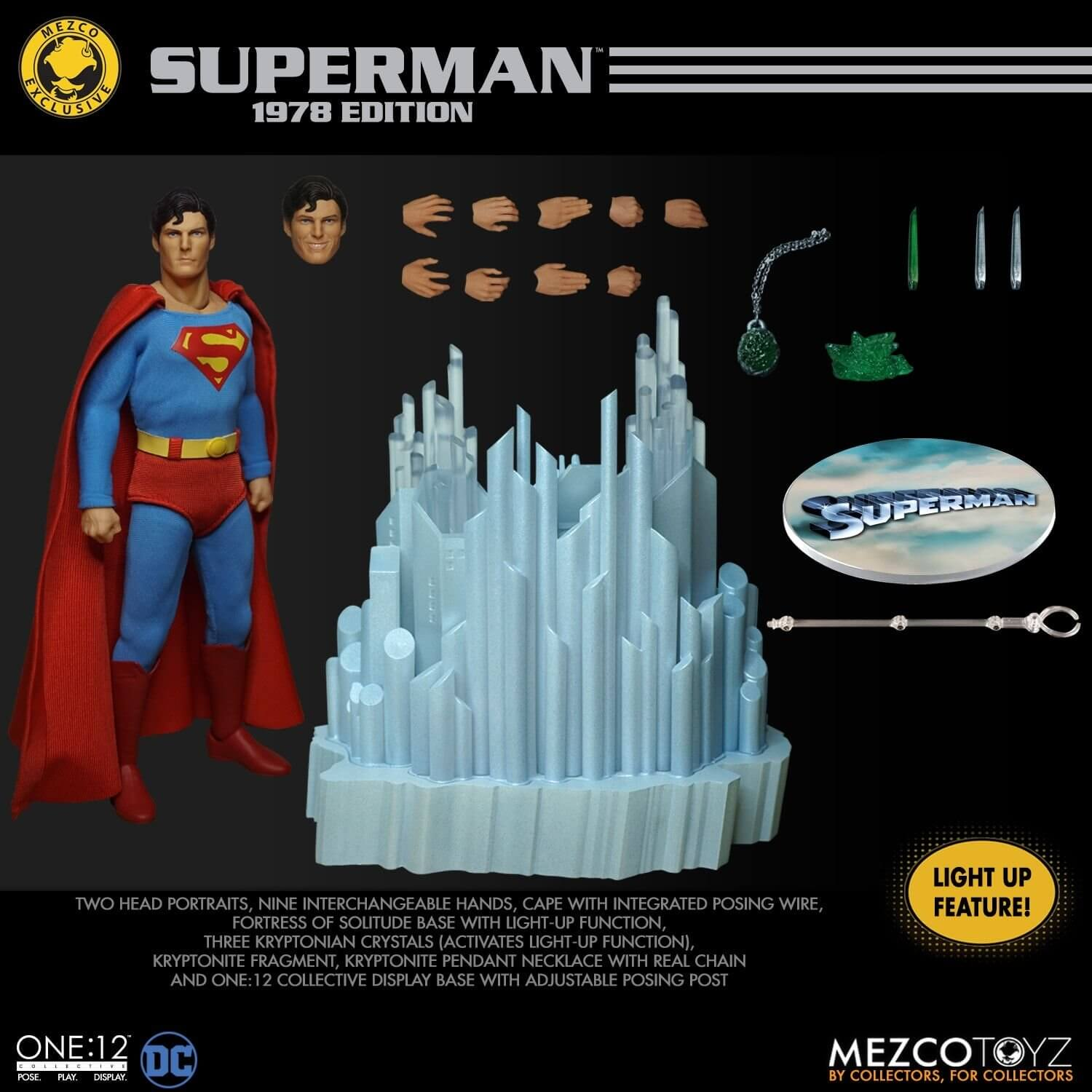 Superman Mezcotoys