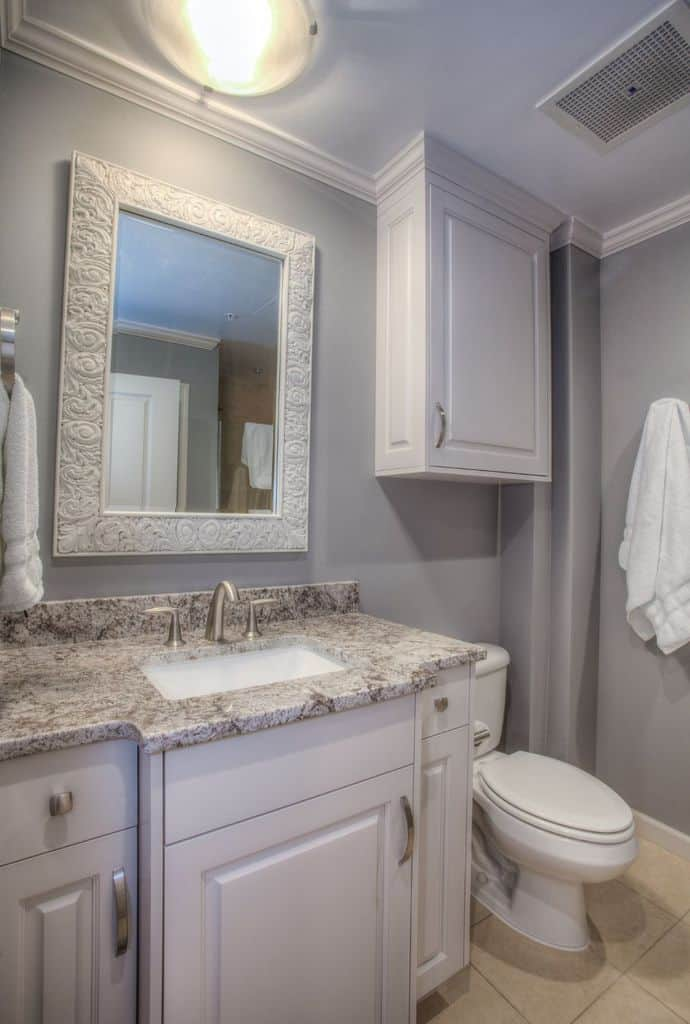 Grey Paint Color For Small Bathroom