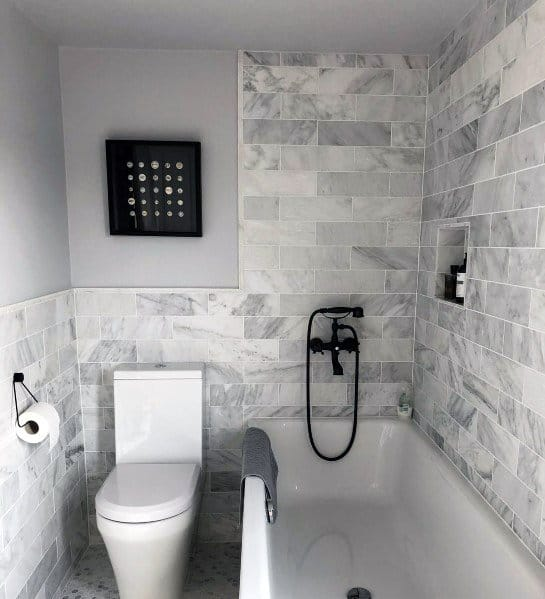 Colours To Go With Grey Tiles In Bathroom