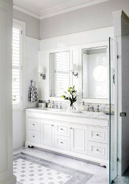 Best White Color For Bathroom Walls