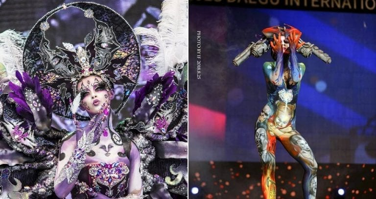 South Korea Has An Epic International Body Painting Festival Every Year