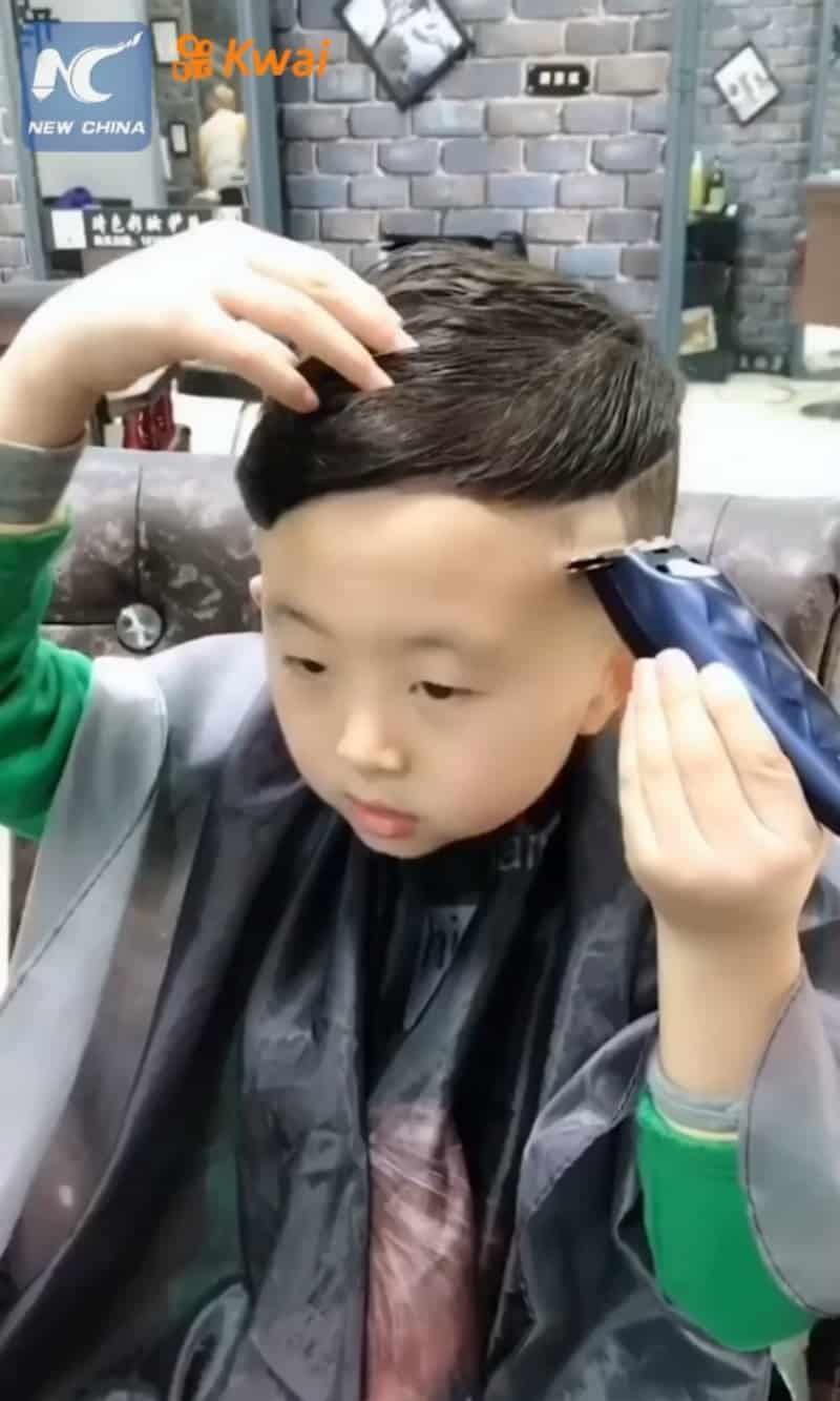 6 Year Old Boy Becomes The Hottest Hairdresser In China