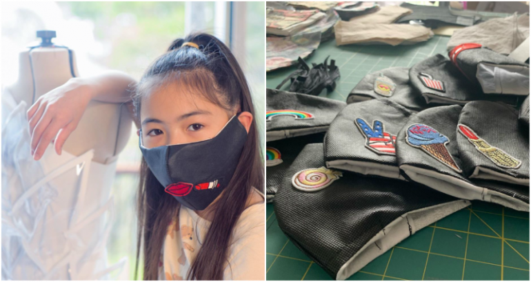 12 Year Old Fashion Designer Sews Masks For Doctors And Nurses Fighting Covid 19