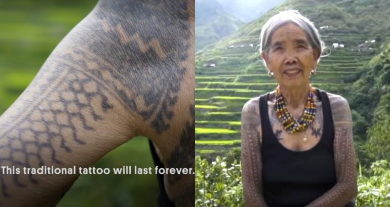 103 Year Old Filipina Tattoo Artist Is The Last One Of Traditional Kalinga Style