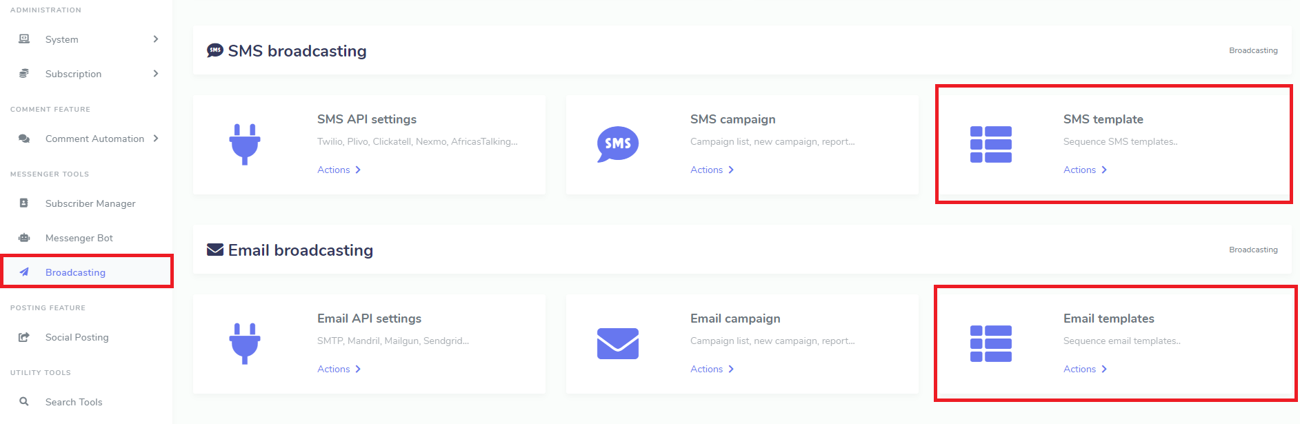 EMAIL & SMS SEQUENCE CAMPAIGNER : A XEROCHAT ADD-ON 1.2.1