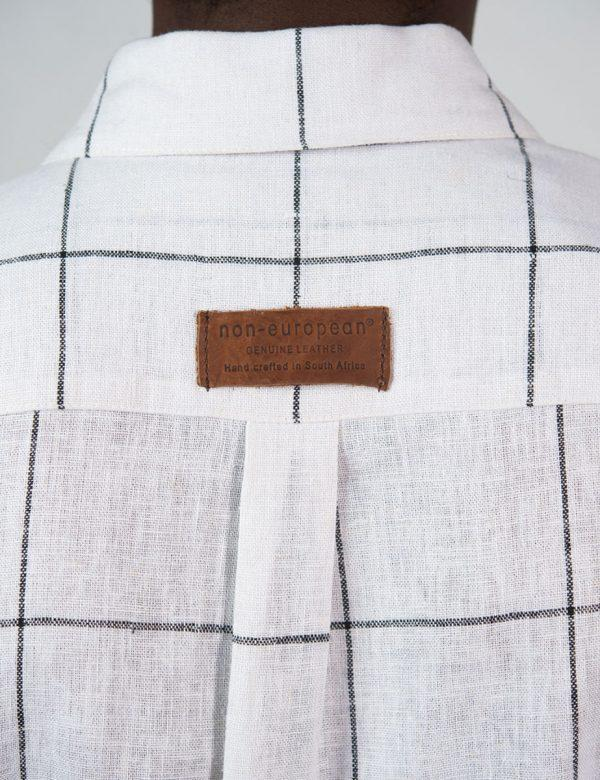 Summer Shirt - Vintage Check - Back detail