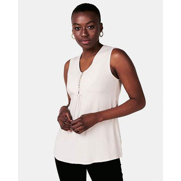 Gypsey Top - Ivory - Front
