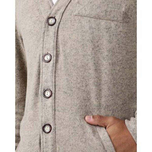 Male Cardy - Natural - Detail 2