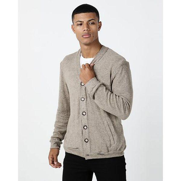 Male Cardy - Natural - Front