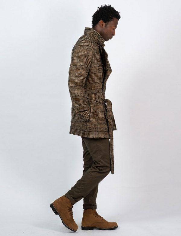 Double Breasted Coat - Tartan Check - Lifestyle shot 4