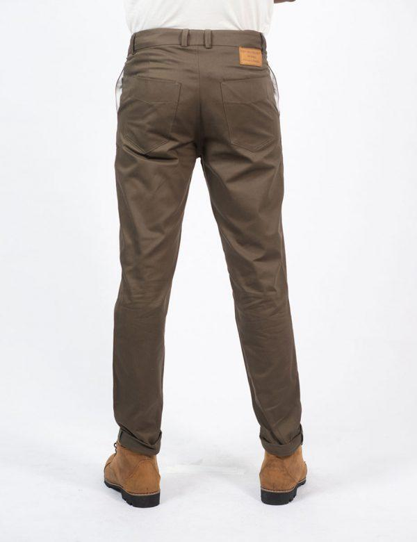 Male Cotton Skinny - Olive - Back