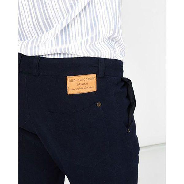 Male Skinny - Navy - Detail