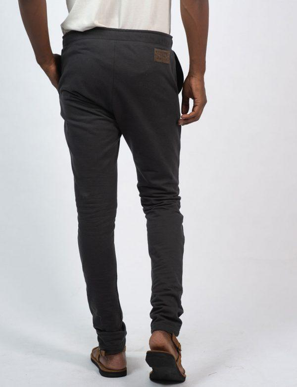 Male Skinny Jogger - New Charcoal - Back