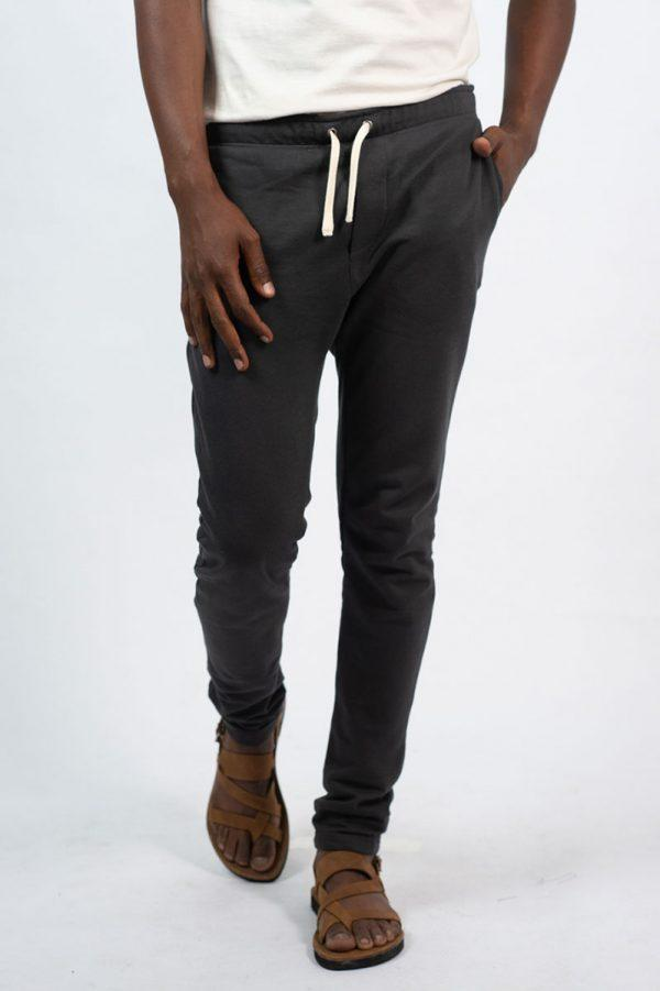 Male Skinny Jogger - New Charcoal - Front