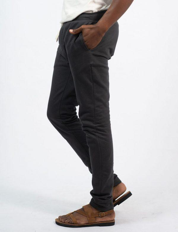Male Skinny Jogger - New Charcoal - Side 1