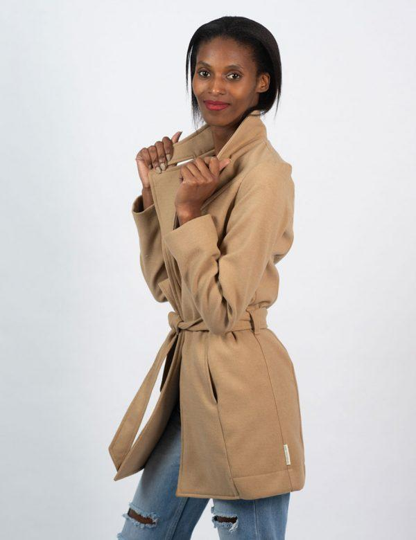 Classic Trench - Camel - Side