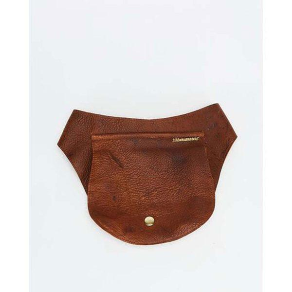 Festival Pouch - Soft Brown&Gold - Detail 2