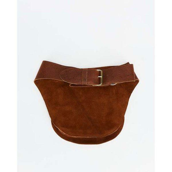Festival Pouch - Soft Brown&Gold - Detail 3